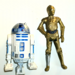 "Star Wars R2-D2 and C-3PO 3.75"" Figures 2013 etc @sold@"